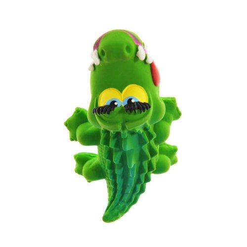 Naturkautschuk Badespielzeug/ Schuller/Beissspielzeug PADDY der Krokodil