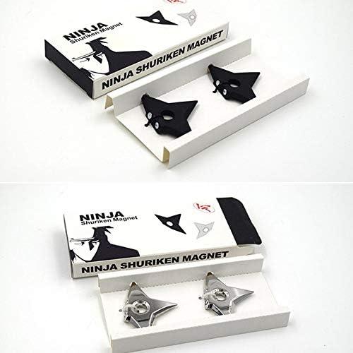 ukYukiko Aimants de r/éfrig/érateur Motif fl/échettes Ninja
