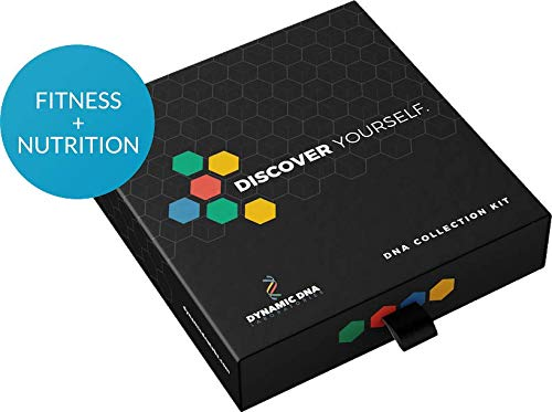 Dynamic DNA – Nutrition and Fitness Genetic Testing Combo – at-Home DNA Test Kit