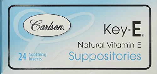 carlson-labs-key-e-suppositories-with-natural-vitamin-e-24-count