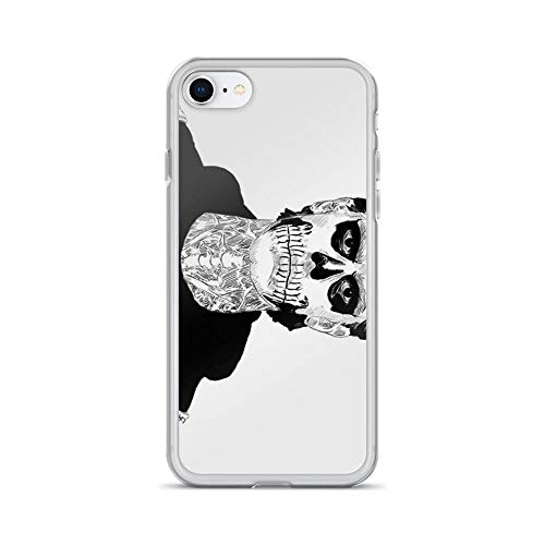 iPhone 7 Case iPhone 8 Case Clear Anti-Scratch Shock Absorption Tate Langdon Skull, Tate Cover Phone Cases for iPhone 7/iPhone 8]()