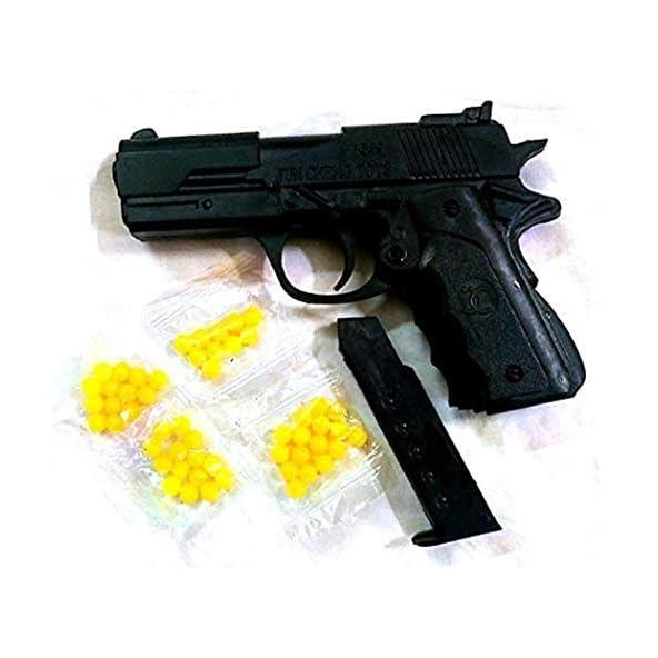 Flow Ki 2 Pcs Mini Toy Gun with 40 Pcs High Grade 6MM Plastic BB Bullets (Mag)