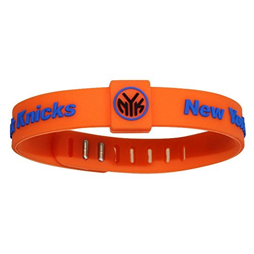 SportsBraceletsPro Adjustable Team Bracelets Kid to Adult Size (Knicks)