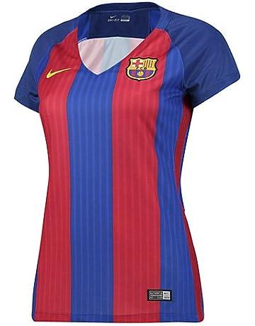 69403addb3 Nike FCB W SS Hm Stadium JSY - Camiseta Manga Corta Línea F.C. Barcelona  para Mujer.  3