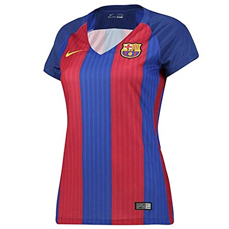 a672728eeb3 Amazon.com   Nike 2016 17 FC Barcelona Stadium Home Women s Soccer ...