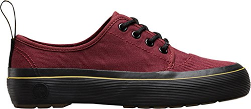 Jacy Martens Red Dr Femme Cherry Canvas Derby C055qwxO
