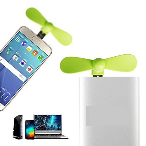COSPEX Portable Travel Gadget Mini Micro USB Cooling Fan for All Smartphones JBR