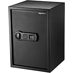 AmazonBasics Biometric Fingerprint Safe - 1.8-Cubic Feet