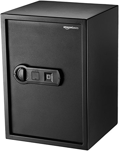 AmazonBasics Biometric Fingerprint Safe - 1.8-Cubic Feet
