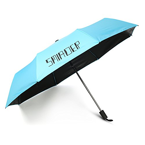 Umbrella Sunny Rain Anti-uv Umbrellas Three Folding