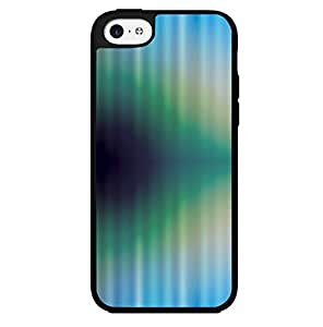 Blue, Green, and Dark Blue Wave Hard Snap on Phone Case (iPhone 5c) by lolosakes