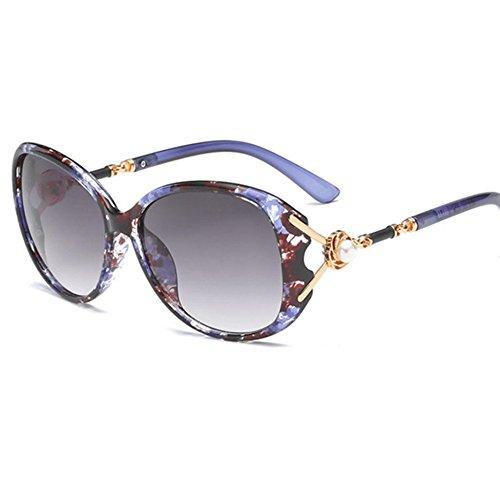 3e5d06d182c38d Aoligei Mesdames mode minimaliste lunettes de soleil E ...