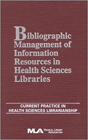 Livres télécharger ipadBibliographic Management of Information in Health Sciences Libraries (French Edition) PDB 0810837838