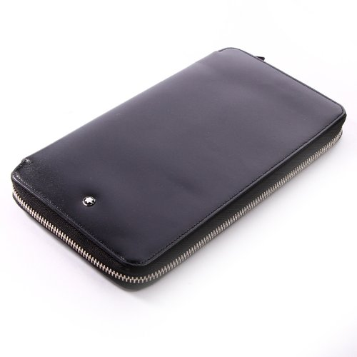 Mont Blanc Black Travel Currency Wallet (16352) by MONTBLANC (Image #4)