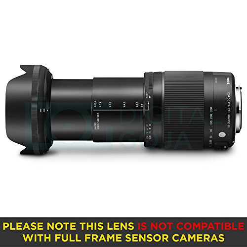 Sigma 18-300mm F3.5-6.3 Contemporary DC Macro OS HSM Lens for Canon DSLR Cameras w/Advanced Photo and Travel Bundle