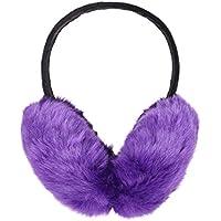 Eqoba Outdoors Soft Faux Fur Fluffy Warm Winter Earmuff