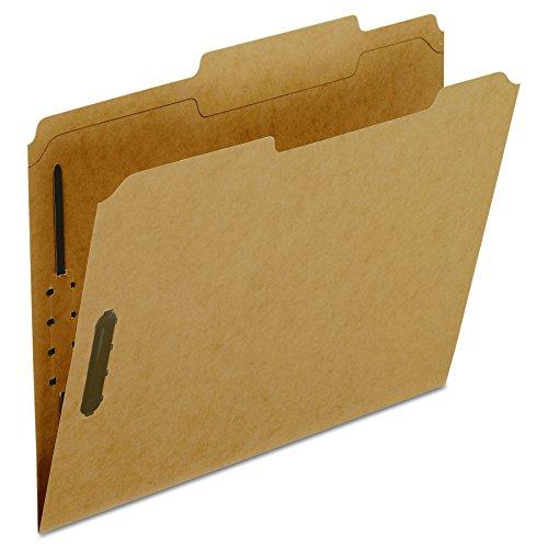 Pendaflex Kraft Fastener Folders, Letter Size, 2 Fasteners, 2/5 Cut ROC, 50/BX (FK213)