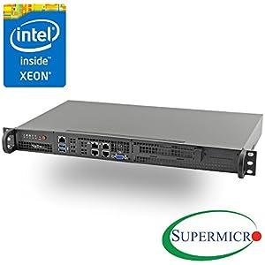 Supermicro Xeon D-1518 Mini 1U Rackmount w/ Dual 10GbE, IPMI, RS-SMX104C4N-FIO