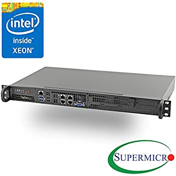 Xeon D-2146NT SuperMicro SuperServer 5019D-FN8TP 0 GB Rack-Mountable