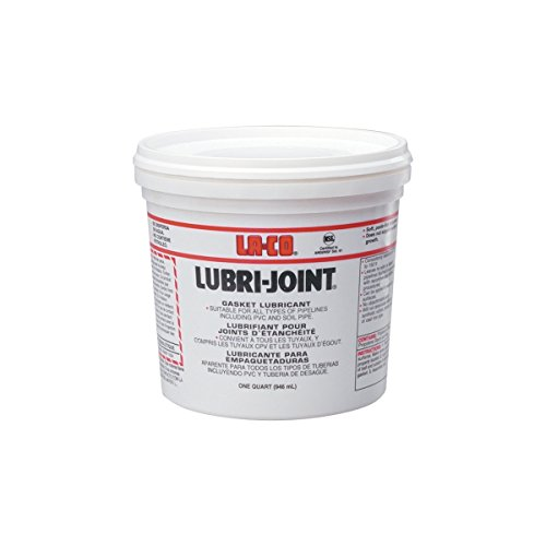 LA-CO Lubri-Joint Water Dispersable Gasket Lubricant, 1 qt