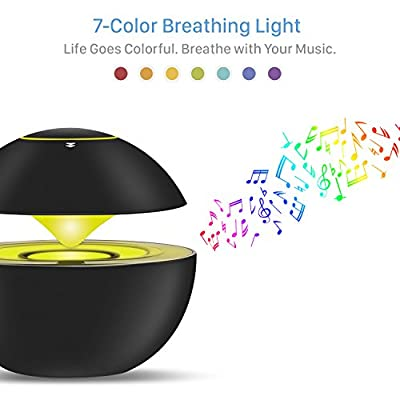 E-Blue Portable Bluetooth Speaker - Semi Leviation Style - 7 Color Breathing Light