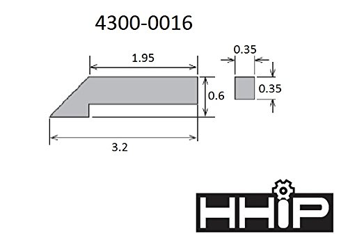 HHIP 4300-0016 Scribe for 4300-0010 12 Double Beam Dial Height Gage