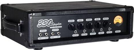 Ashdown Dual tubos 330 Bass Amplificador topteil: Amazon.es: Instrumentos musicales