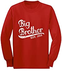 TeeStars - Gift for Big Brother 2018 Toddler/Kids Long Sleeve T-Shirt