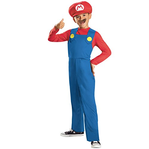 Super Mario Brothers, Mario Costume, Small (Discontinued by manufacturer) -