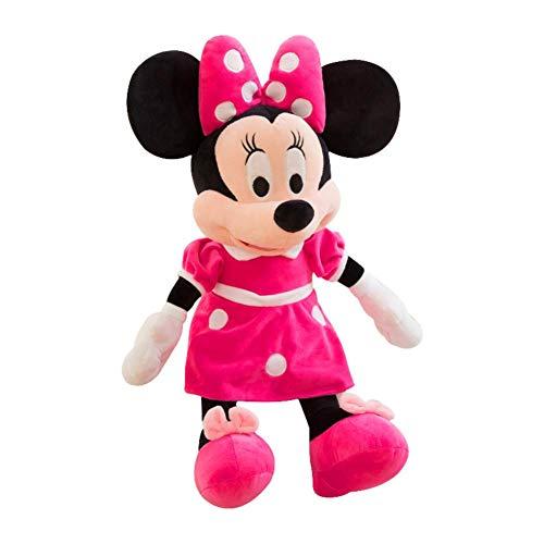 ZQQXV 40cm Disney Mickey Mouse Minnie Animal Stuffed Plush Toys Kawaii Doll Christmas Birthday Gift for Children Kid