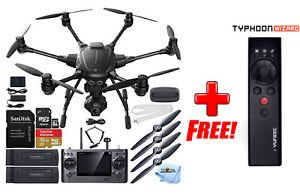 YUNEEC Typhoon H Hexacopter with GCO3+ 4K Camera 2 Battery Bundle + Free Wizard!