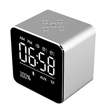 Alician Altavoces Audio Compatible con Smartphone del Despertador ...