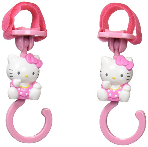 Hello Kitty Stroller hook (Japan import) by Akanbou company by Akanbou