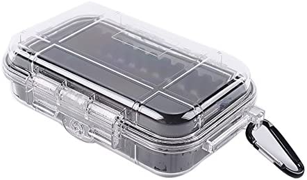 EFINNY EDC Caja de Cajas de Supervivencia Profesional IP67 Impermeable A Prueba de Humedad A Prueba de Golpes Anti presión Ajustable Organización Exterior Herramientas de Almacenamiento: Amazon.es: Deportes y aire libre