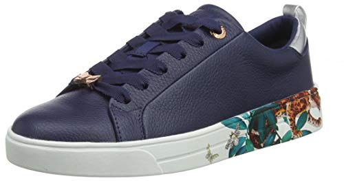 Ted Baker Women's Roully Trainers, Blue (Navy Houdini NVY Hd), 7 (40 -