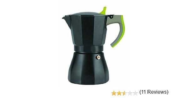 IBILI 621106 - Cafetera Express L´Aroma Verde 6 Tazas: Amazon.es ...