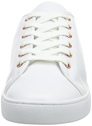 Rebel London White Weiß Damen 002 Blake Sneaker 1cz0Uq