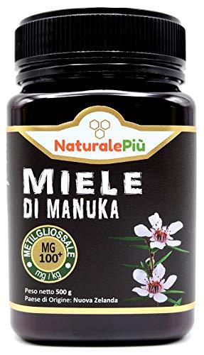 Manuka Honing 100+ MGO 500 gram. Geproduceerd in Nieuw-Zeeland, actief en rauw, 100% zuiver en natuurlijk. Getest op…