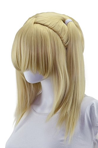 Epic Cosplay Gaia Natural Blonde Pigtail Wig (T2NB) ()