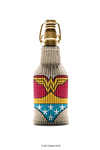 [Wonder Woman Freaker - One Size Fits Every Bottle - Can Cozy / Bottle Insulator - Made in America] (Pun Costumes For Guys)
