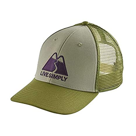 9048a39eaa1 Amazon.com  Patagonia Men s Live Simply Winding LoPro Trucker Hat ...