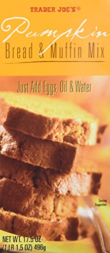 - Trader Joe's Pumpkin Bread & Muffin Mix