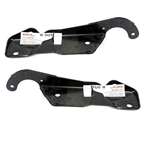 (Koolzap For 88-02 Chevy Tahoe/Suburban C/K Pickup Truck Front Hood Hinge Bracket SET PAIR)