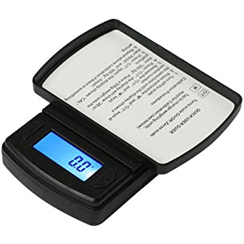 Fast Weigh MS-600-BLK Digital Pocket Scale 600 Gram 0.1 Black