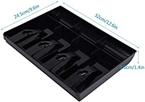 Wolfgo Introduzca la Bandeja cajón de Caja registradora-Registro ...
