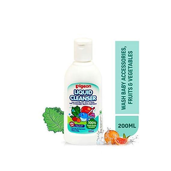 Pigeon Liquid Cleanser for Nursing Product, 200 ml