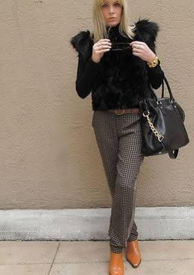 Neiman Marcus Fur (Skaist Taylor Black Faux Fur Vest Jacket X-Small)