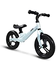 "COEWSKE 12"" Balance Bike Magnesium Alloy No Pedal Walking Balance Training Bicycle for Kids and Toddlers 2 to 4 Years"