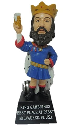 King Gambrinus Limited Edition Bobblehead - Pabst Beer - Rare Only 500 Made! (Beer Bobblehead)