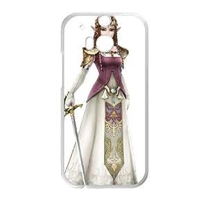 HTC One M8 Cell Phone Case White Super Smash Bros Princess Zelda OJ492214
